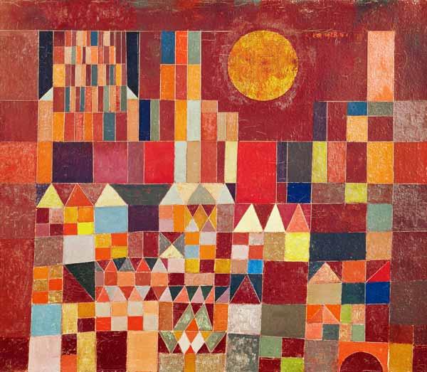 Paul Klee Uber 8000 Werke Bei Kunstkopie De 100 Jahre Bauhaus