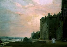 Windsor Castle: North Terrace 1800