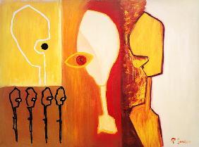 Kunstdruck von Paulo Simoes - Fenster der Desillusion