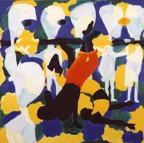 Kunstdruck von Paulo Simoes - Capoeira ll