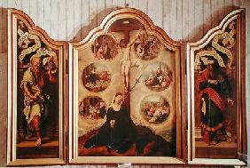 Triptych of the Seven Sorrows of the Virgin c.1520-35