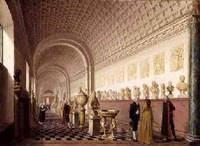 The Inner Gallery of the Royal Museum at the Royal Palace, Stockholm 1796