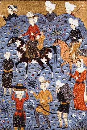 Return from the raid, Shiraz c.1600