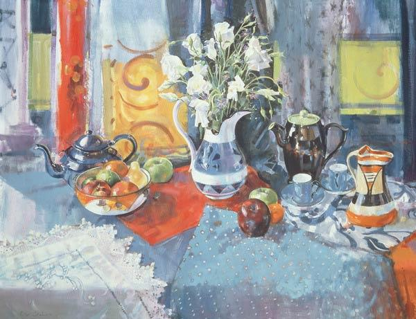 Cleopatra''s Fruit, 1996 (oil on canvas)