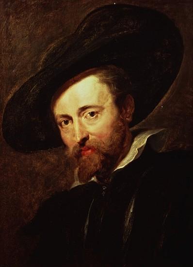 Bild: <b>Peter Paul</b> Rubens - Self Portrait - self_portrait-1