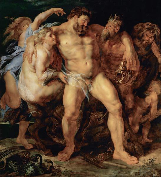 P. P. Rubens / The drunken Hercules