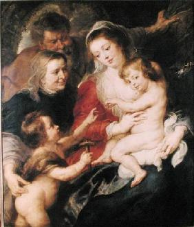 The Holy Family with St. Elizabeth and the Infant St. John the Baptist c.1634