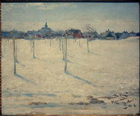 Hornbaek im Winter 1891