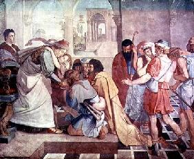 Joseph recognised by his brothers
