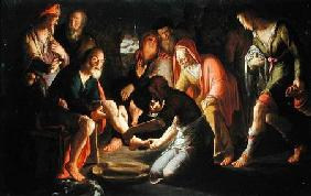 Christ Washing the Disciples' Feet 1623