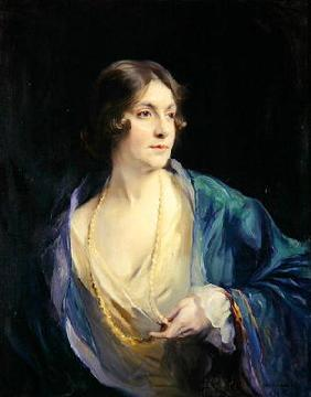 Marjory (Tiny) Heaton Ellis, Lady Forteviot, 1922 (oil on canvas) 19th