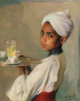 A Nubian Serving Boy