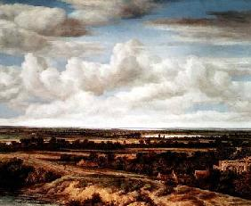 An Extensive Landscape with a Road by a River 1655