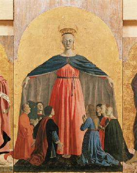 The Madonna of Mercy, central panel from the Misericordia altarpiece 1445