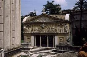 Loggia of the Casina of Pius IV 1558-62