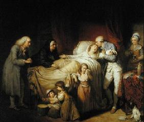 The Last Moments of the Beloved Wife 1784