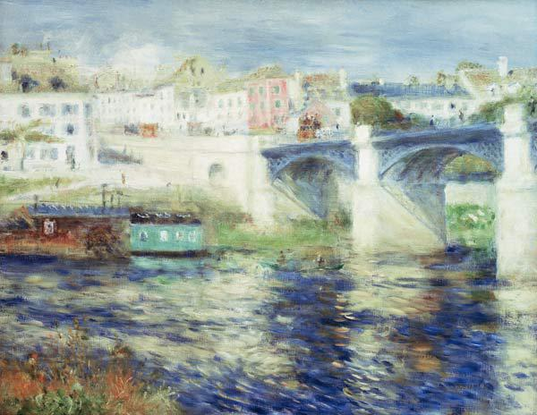 Renoir / Bridge of Chatou / 1875