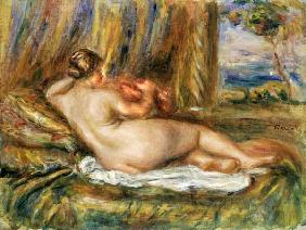 Reclining nude 1914