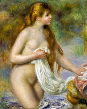 Bather with long hair c.1895