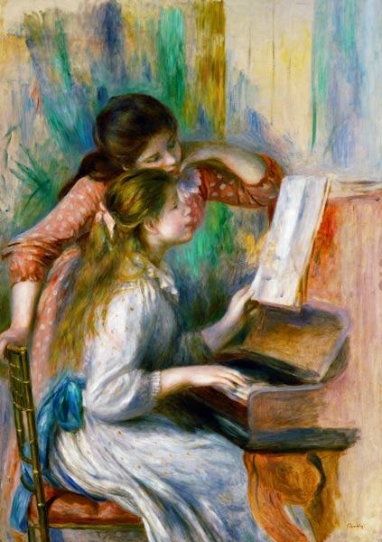 Young Girls at the Piano c.1890