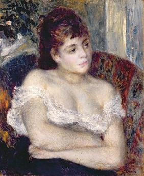 Woman in an Armchair 1874
