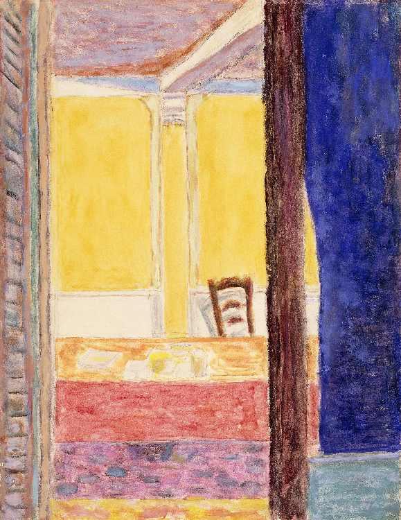 Interieur im Haus des Malers nahe Cannet - Pierre Bonnard ...