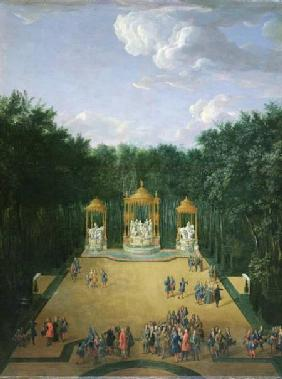 The Groves of the Baths of Apollo in the Gardens of Versailles 1713