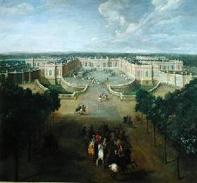 View of the Grand Trianon 1722