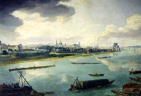 View of Paris from the Quai de la Rapee (detail of 168381)