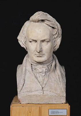 Bust of Victor Hugo (1802-85) aged 35 1837