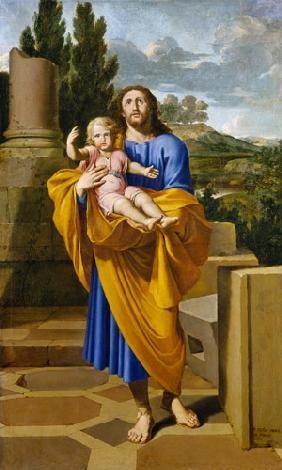 St. Joseph Carrying the Infant Jesus 1665