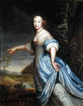 Portrait of Madame de la Sabliere