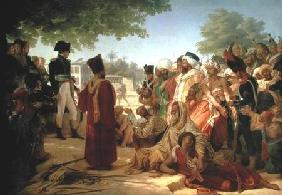 Napoleon Bonaparte (1769-1821) Pardoning the Rebels at Cairo, 23rd October 1798 1806-08