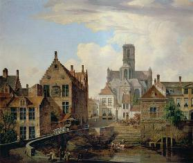 View of St. Bavo Cathedral c.1831