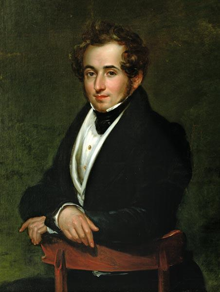 Portrait of Vincenzo Bellini (1801-35)