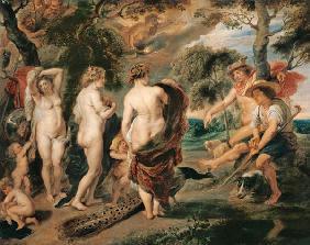 Kunstdruck von  Pompeji, Wandmalerei - Der Raub der Europa.