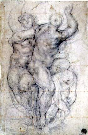 Study for a Group of Nudes