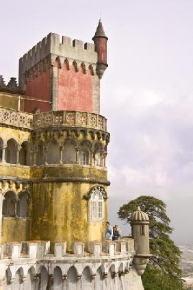 A castle tower (photo)