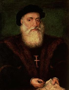 Portrait presumed to be of Vasco da Gama (1469-1524) c.1524