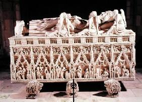 Tomb of Peter I (1320-67) King of Portugal