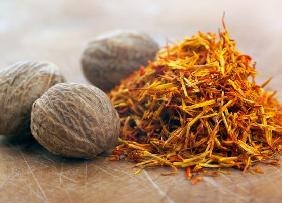 Saffron and Nutmeg