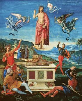 Raphael/The Resurrection o.Christ/c.1499 um 1499