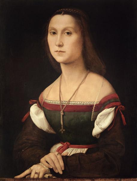 Portrait of a Woman (La Muta) 1507