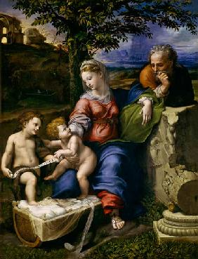 The Holy Family of the Oak Tree c.1518