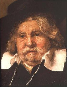 Detail of a Portrait of an old man 1667