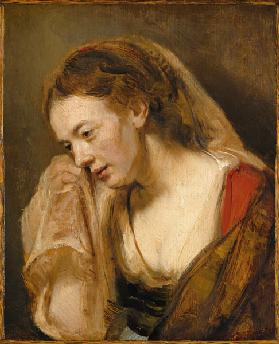 A Woman Weeping 1647