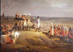 Napoleon I (1769-1821) Receiving General Mack (1752-1828) at the Surrender of Ulm, 20th October 1805 1806