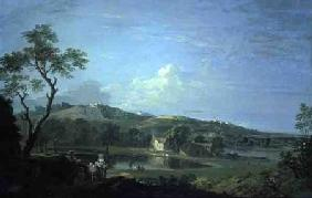 Landscape with Cottages