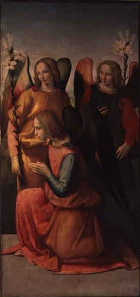 Three Angels (panel) (pair of 80358)