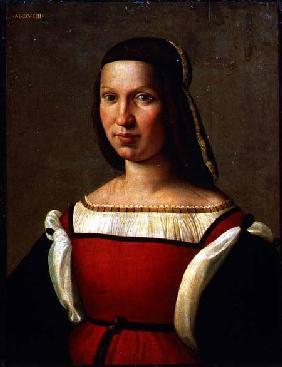 Portrait of a woman 1519